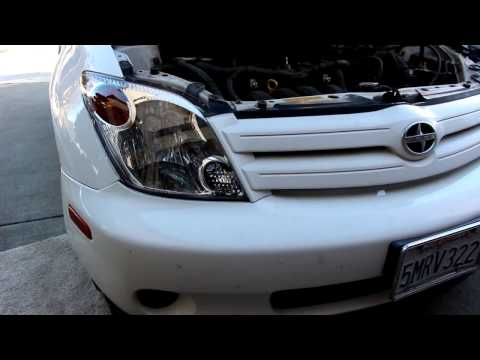 Scion Xa Headlight Assembly Replacement DIY!