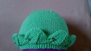 getlinkyoutube.com-ВЯЗАНИЕ СПИЦАМИ!КРАСИВАЯ ДЕТСКАЯ ШАПОЧКА!Просто связать даже начинающим.Knitting