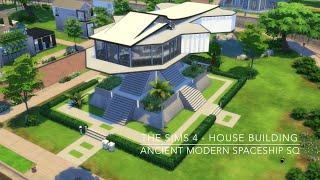 getlinkyoutube.com-The Sims 4 - House Building - Ancient Modern Spaceship SQ