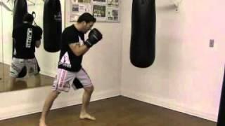 Punching the Heavy Bag - Boxing Basics - The Jab
