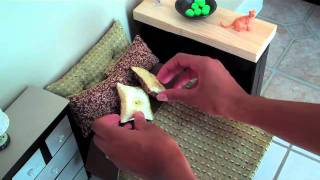 getlinkyoutube.com-How to Make a Doll Bed: Easy - Doll Crafts