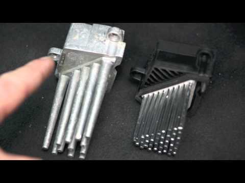 DIY BMW E46 Blower motor Resistor, Final Stage Unit replacement