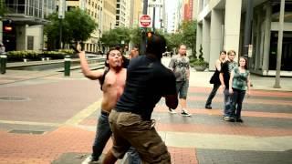 getlinkyoutube.com-Fight in Downtown Houston