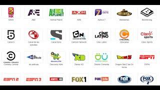 Lista De canales Actualizada HBO MAX UFC Network y mucho mas