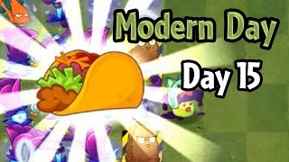 getlinkyoutube.com-Plants vs Zombies 2 - Modern Day - Day 15: Taco