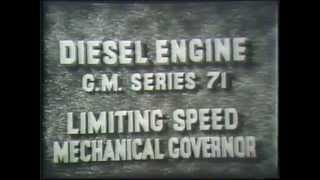 getlinkyoutube.com-Diesel Engine Limiting Speed Mechanical Governor