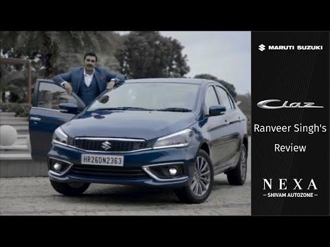 New Ciaz | Ranveer Singh's Review | Nexa | Shivam Autozone