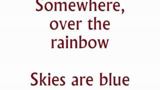 "getlinkyoutube.com-""Somewhere Over the Rainbow"" from The Wizard of Oz karaoke/instrumental"
