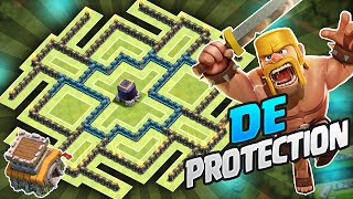 Clash of Clans - PROTECT YOUR DARK ELIXIR! Townhall 8 (TH8) Dark Elixir Farming BASE!