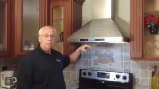 getlinkyoutube.com-Wall Mount Range Hood Installation
