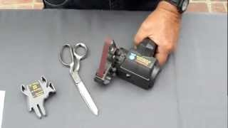 Scissors Sharpening using the Work Sharp Knife Sharpener