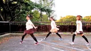 getlinkyoutube.com-Japanese schoolgirls dance-Танец японских школьниц.