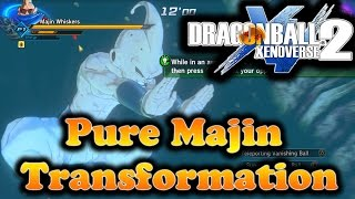 getlinkyoutube.com-Dragon Ball Xenoverse 2: Getting The Majin Transformation/First Impression
