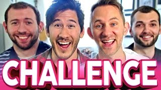 getlinkyoutube.com-FINISH MY SENTENCE CHALLENGE | Markiplier, Wade, Matthias & Jesse