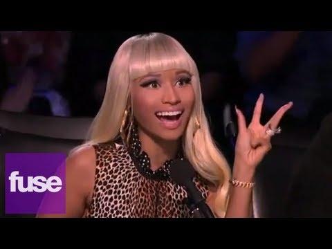 "Nicki Minaj Offers Mariah Carey a Q-Tip to Clean Her Ears Out on ""American Idol"""