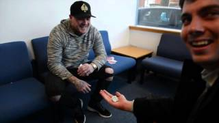 getlinkyoutube.com-Magician Ryan Tricks performs in the Advertiser offices