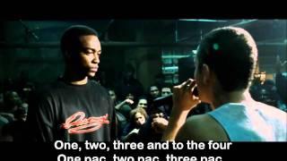 getlinkyoutube.com-Eminem 8 Mile Final Battle lyrics