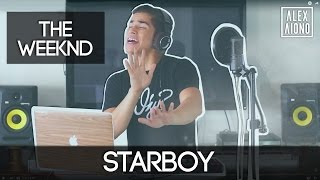 getlinkyoutube.com-Starboy by The Weeknd ft Daft Punk   Alex Aiono Cover