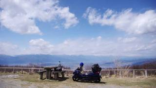 getlinkyoutube.com-絶景、安曇野の春景色(前篇) ツーリングアローン