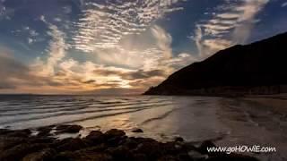 Time lapse beautiful sunset at Llandudno, North Wales