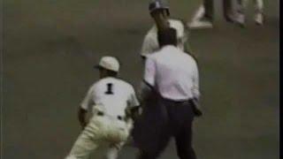 getlinkyoutube.com-1986年高校野球 長谷川滋利 東洋大姫路時代 暴投で決勝点を奪われ敗退