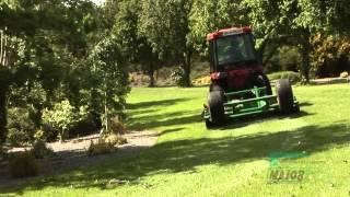Major Equipment Roller Mower in gezogener Ausführung