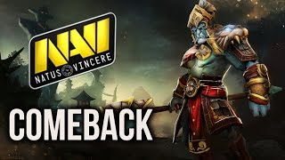 getlinkyoutube.com-EPIC Mega Creeps Comeback NaVi vs HR Starladder 13 Game 2 Dota 2 Group Stage