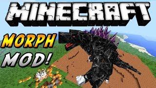 getlinkyoutube.com-Minecraft - Morph MOD! (Transformate en cualquier cosa, sé Godzilla y más!) - ESPAÑOL TUTORIAL