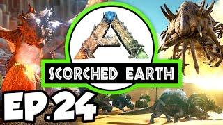getlinkyoutube.com-ARK: Scorched Earth Ep.24 - WYVERN EGG INCUBATION SHED!!! (Modded Dinosaurs Gameplay)