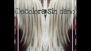 Decolora tu cabello a platino o blanco sin apenas maltrato!