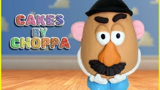 getlinkyoutube.com-Mr Potato Head Cake | Toy Story  Feat: MsDessertJunkie