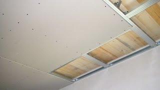 getlinkyoutube.com-Как сделать потолок из гипсокартона своими руками