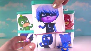 PJ Masks & Teen Titans Go! Toy Surprise Blind Boxes! Owlette, Catboy, Dory, Rainbow Dash