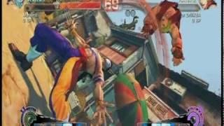 Super Street fighter 4 2nd Ultra Combos Part 1
