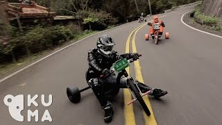getlinkyoutube.com-Trike Drifting - Taiwan (台灣甩爆三輪車)