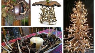 getlinkyoutube.com-Antler Decorations Ideas - Rustic Home Decor