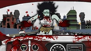 getlinkyoutube.com-ZOMBIES EVERYWHERE!! | Road of the Dead - Flash Animation Game