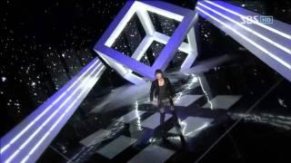 getlinkyoutube.com-Super junior - Boom Boom + Bonamana @ SBS Inkigayo 인기가요 100516