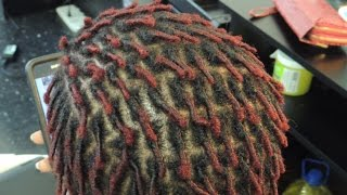 getlinkyoutube.com-#536 - Comb Coils/Starter Locs on EC (Extremely Curly) Natural Hair