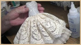 getlinkyoutube.com-Art Dress Tutorial - Part 1 - Paper Mache Bodice