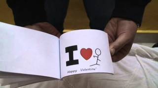 "getlinkyoutube.com-The animated ""I love you"" Flipbook"