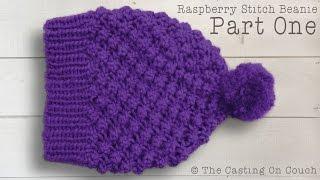 getlinkyoutube.com-RASPBERRY STITCH BEANIE  How To Knit A Hat