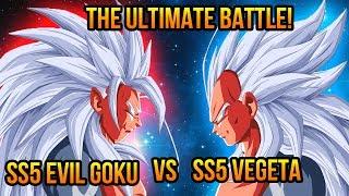 getlinkyoutube.com-Dragon Ball Z (AF): Super Saiyan 5 Evil Goku VS Super Saiyan 5 Vegeta