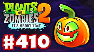 getlinkyoutube.com-Plants vs. Zombies 2: It's About Time - Gameplay Walkthrough Part 410 - Jack O' Lantern! (iOS)