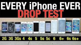 getlinkyoutube.com-iPhone 6S Plus vs 6S vs 6 Plus vs 6 vs 5S vs 5C vs 5 vs 4S vs 4 vs 3Gs vs 3G vs 2G Drop Test!