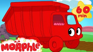getlinkyoutube.com-Garbage Truck Adventures with Morphle ( +1 hour My Magic Pet Morphle kids videos compilation)
