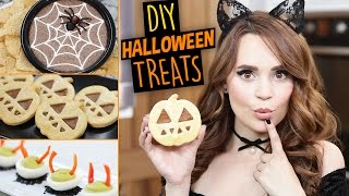 flushyoutube.com-DIY HALLOWEEN TREATS 2016!