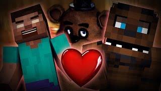 Herobrine Loves Five Nights At Freddy's (Minecraft Machinima)