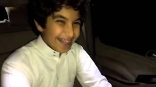 getlinkyoutube.com-نايف زياد بن نحيت يسوق في الخط يسال ابوه عن الساهر