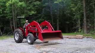 MF 240 4WD with Loader